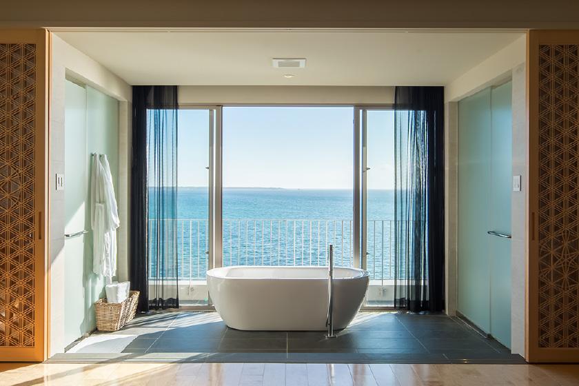 部屋で入浴