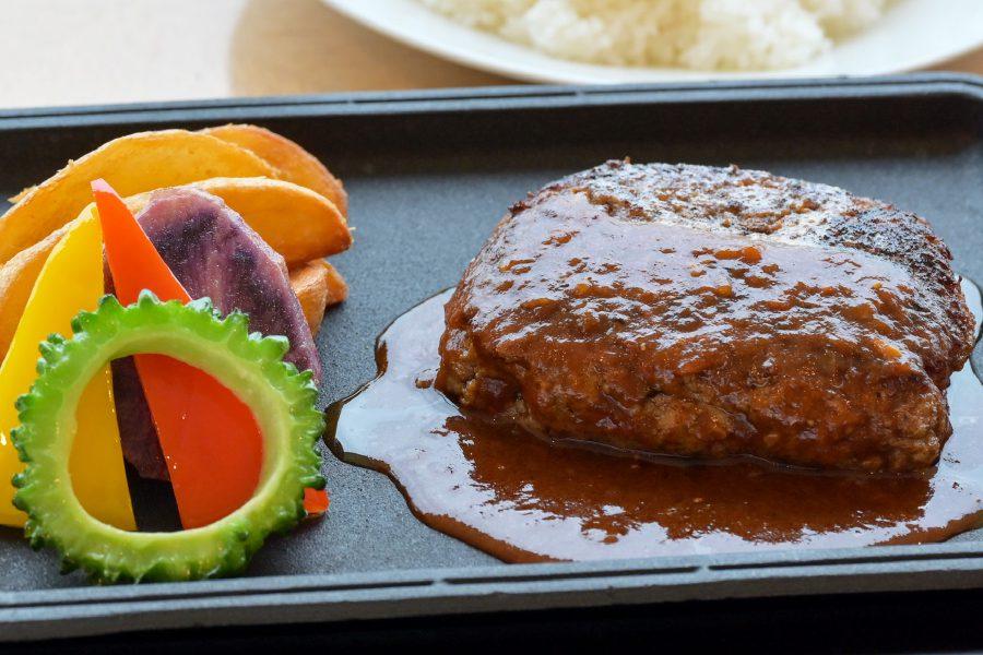 県産和牛ハンバーグステーキ デミグラスソース