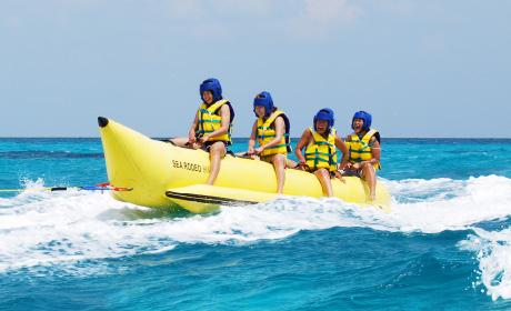 石垣島ビーチホテル ロデオボート