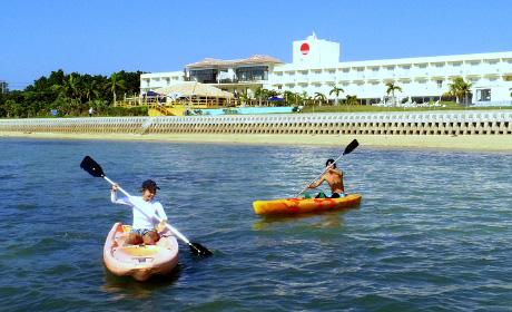 石垣島ビーチホテル カヌー